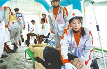 東日本大震災や熊本地震時にも現地に出動。心身ともにケアが必要な患者の救護を行った