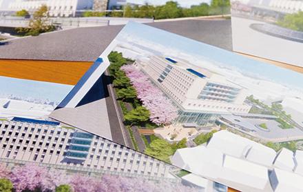 新大橋病院計画