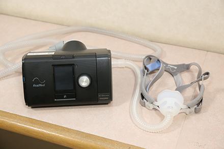 SAS治療の必需品であるCPAP