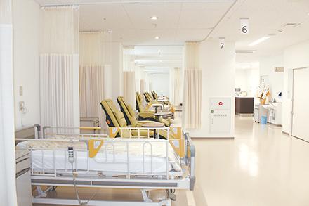 化学療法を外来で行 うための専用スペース