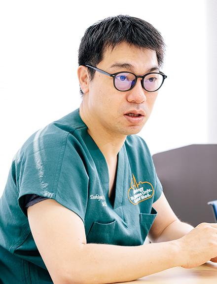 古川俊行部門長