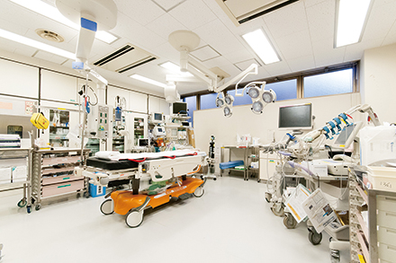 他科とも連携し、大学病院レベルの高度な医療を展開