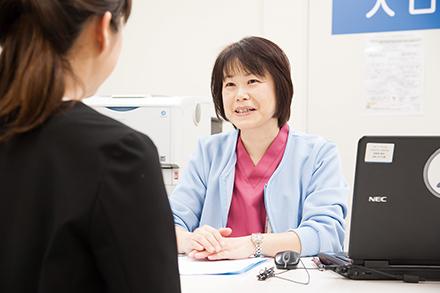 誰もが安心して診療を受けられるよう、 組織全体で連携している