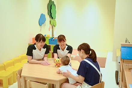小児の救急診療のニーズは高く入院も可能。病棟にもプレイルームが完備