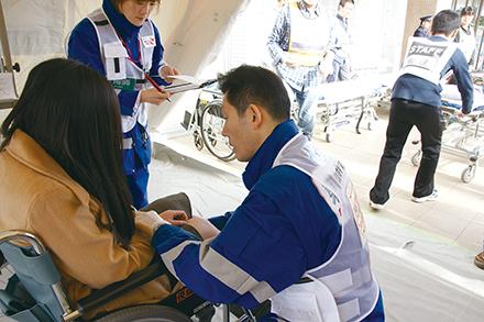 災害拠点病院としての機能も持つ同院。日ごろから訓練をし有事にも備えている