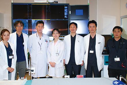 高い専門性を持つ循環器内科のメンバー