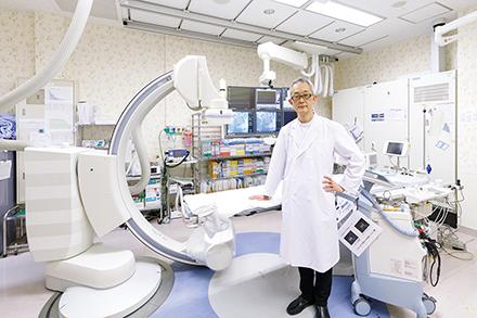 心房細動へのカテーテルアブレーションも数多く手がける。どの手術も、患者が5年後・10年後何もなく過ごせるよう適用を慎重に判断