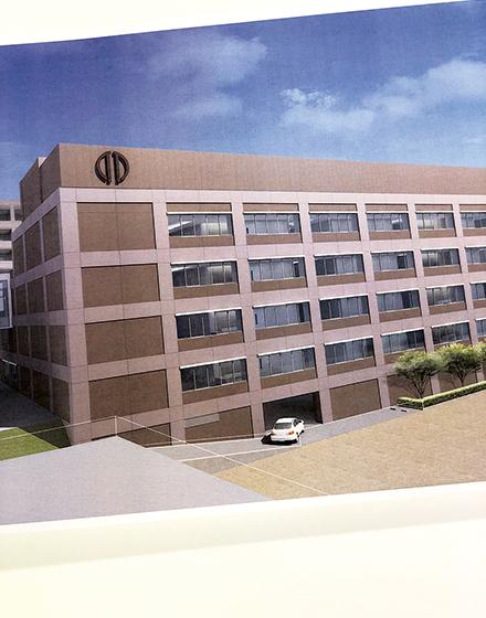 2020年1月にオープンが予定されている新4号館(イメージ)