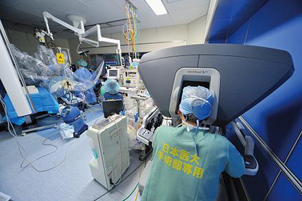 ロボット支援手術は入院期間も短く、出血も抑えられるため輸血の必要性が減少