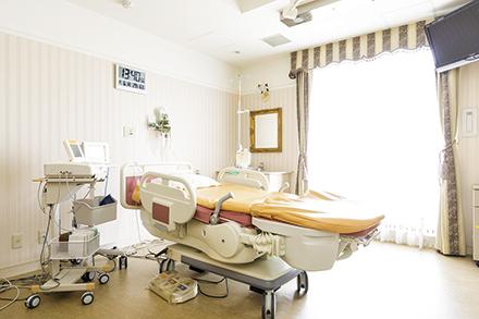 出産時に陣痛室から分娩室へと部屋を移らずにリラックスして出産ができるLDR