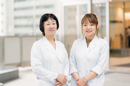 医療ソーシャルワーカー(がん専門相談員)。がんへの不安を取り除くよう努めている