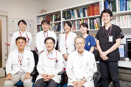 読影室では各臓器を専門とする医師が精度の高い画像診断に尽力している