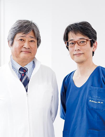 救急部診療部長の大槻穣治先生(左)と同部診療医長の大谷圭先生(右)