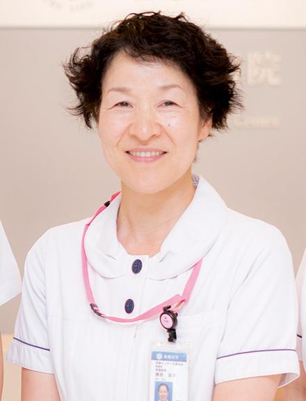勝部 良子看護師長