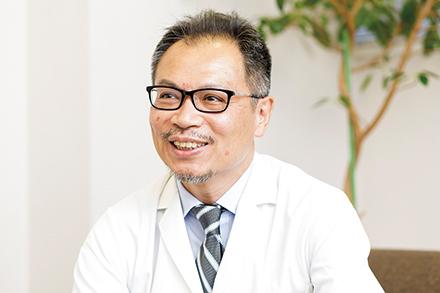 医療の質総合管理センターを統括する、船橋公彦教授
