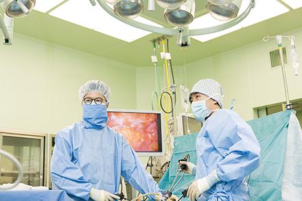 腹腔鏡手術を積極的に取り入れがん治療を担う体制を整備
