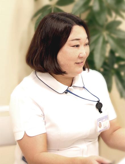 山口 弘子看護部長