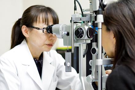白内障、緑内障、糖尿病網膜症、加齢黄斑変性症、網膜静脈閉塞症など、高い専門性が求められる疾患の治療にも適切に対応