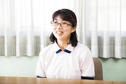 早川所長。その人らしい生活が家で継続できることを心がけて24 時間体制で訪問看護にあたる