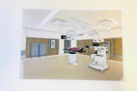 多様な手術に対応できる多目的手術室