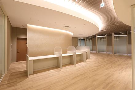 患者と同院をつなぐ窓口として、質の高いホスピタリティーを実践する