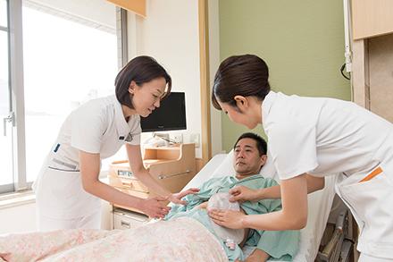 さまざまなニーズに応え、質の高い看護を提供している