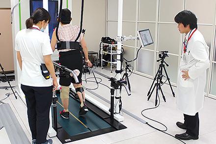 客観的、定量的な歩行分析に基づく訓練