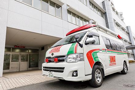 東京都CCUネットワーク加盟施設や東京都脳卒中急性期医療機関である同院は、地域の中で大きな役割を果たしている