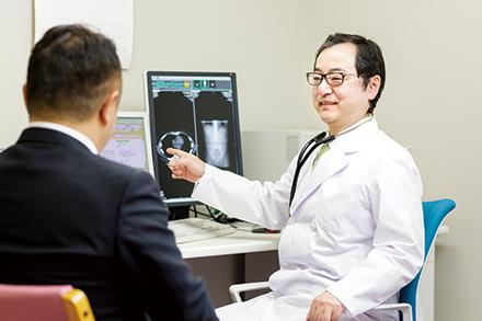 日々発展するがん治療に対応するためには、専門の診療科による診断が重要。仕事をしながら通院で治療を行う患者も増えている