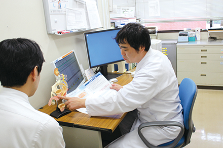 泌尿器の疾患は比較的なじみが薄いことから、どんな病気でどう治療するのかを、わかりやすく説明することを心がけている