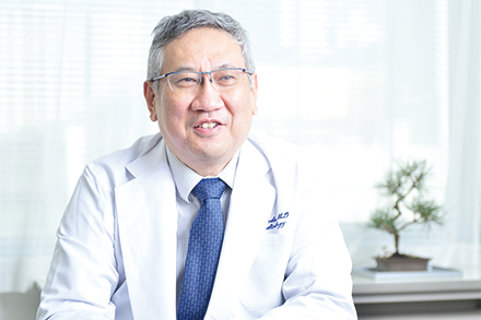 健康診断・人間ドック部門を率いる長田部門長。循環器内科を専門としている